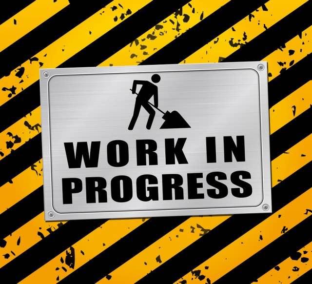 immagine di lavori in corso