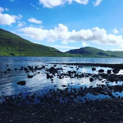 paesaggio delle Isole Faroe