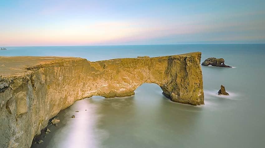 arco, mare, Islanda