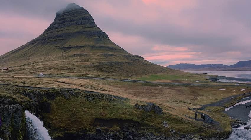 montagna, penisola, snaefellsnes, islanda
