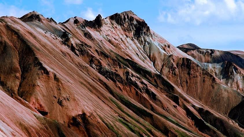 montagne, vulcano, Islanda