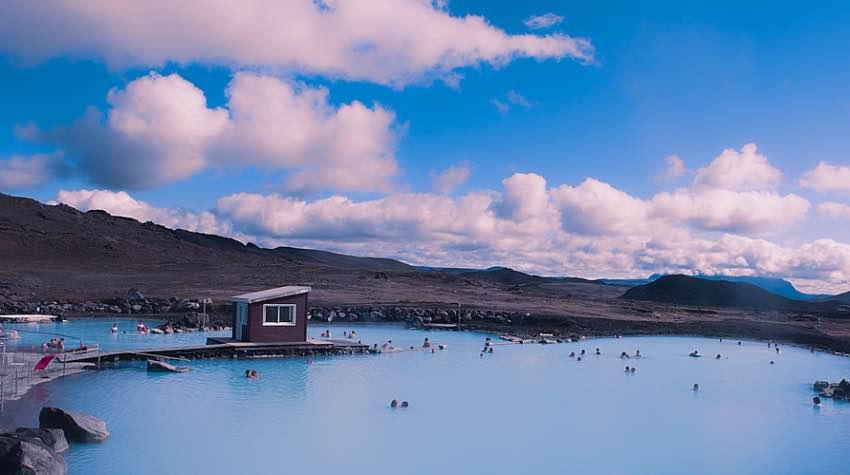 lago Myvatn, Islanda, terme