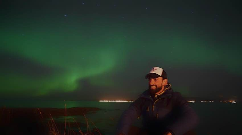 aurora boreale, reykjavik, islanda
