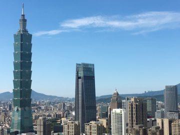 vista di Taipei
